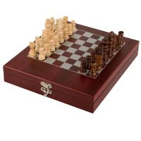 Rosewood Finish Chess Set</br>GS006